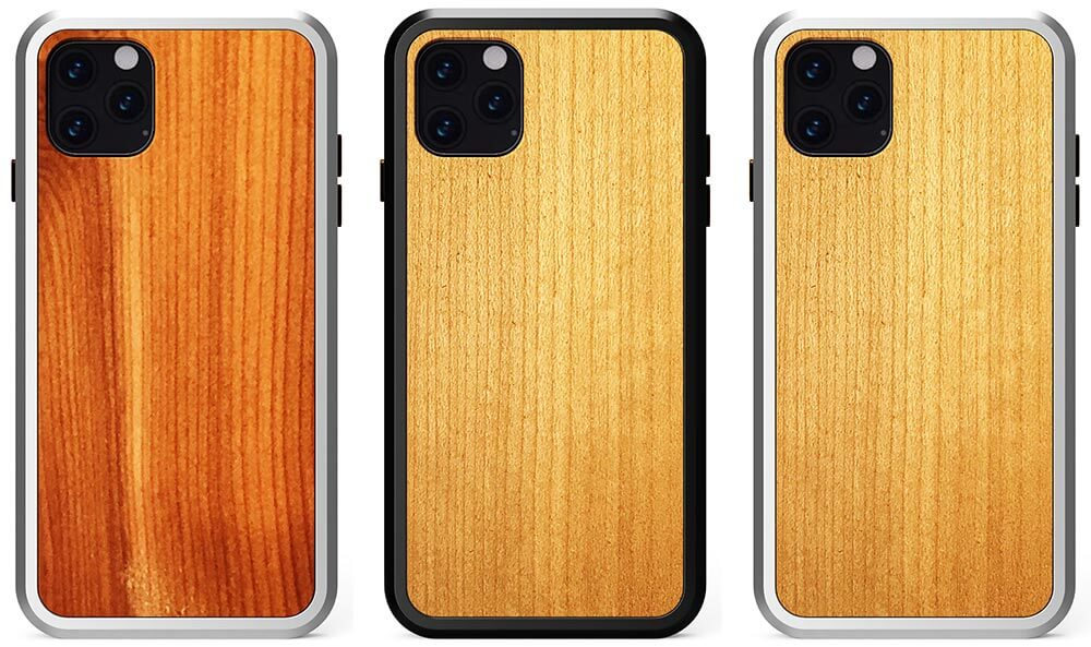 KERF Wooden Alloy Cases for iPhone 11, 11 Pro, and iPhone 11 Pro Max