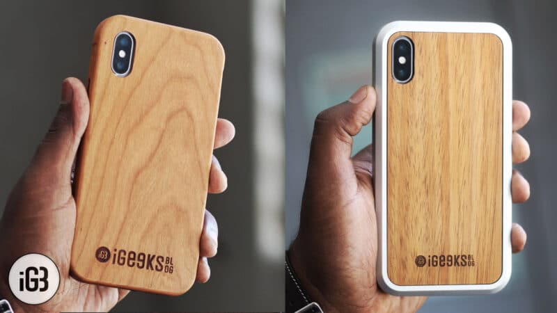 KERF Wooden Case for iPhone X, Xs, and iPhone Xs Max