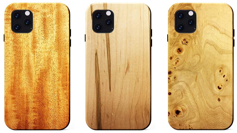 KERF Wooden Cases for iPhone 11, Pro, and 11 Pro Max