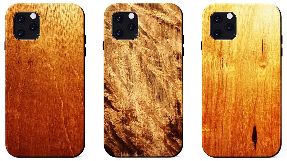 KERF iPhone 11, iPhone 11 Pro and 11 Pro Max Wooden Cases