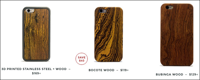 KERF iPhone Wooden Cases Range