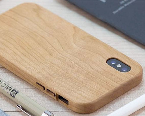 KERF iPhone Xs Max Wooden Case