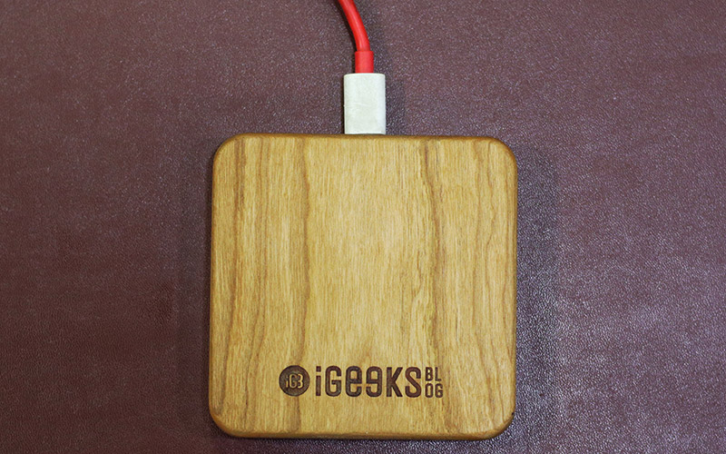 KERFCase Wooden Wireless Charger for iPhone X, Xs, Xs Max, and iPhone XR