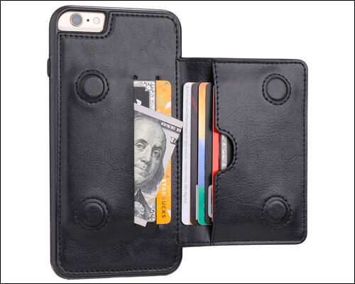 KIHUWEY Wallet Case for iPhone 6s Plus