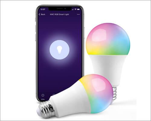 KMC Smart LED Light Bulb works with Apple HomeKit