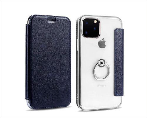 KMXDD Ring Holder Case for iPhone 11 Pro