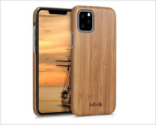 Kalibri Natural Hard Wooden Case for iPhone 11 Pro