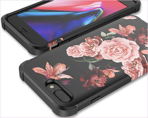 KapCase iPhone 8 Plus Case for Women