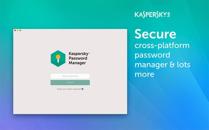 Kaspersky Mac Password Manager App