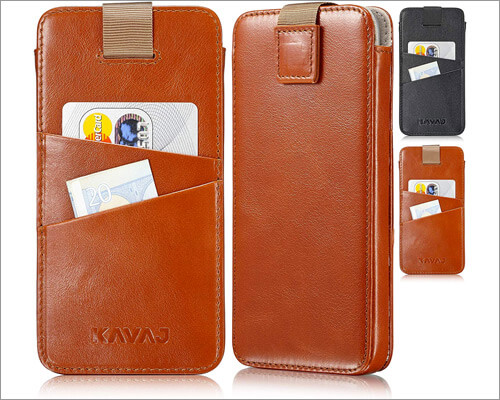 Kavaj Leather Sleeve for iPhone 11 Pro