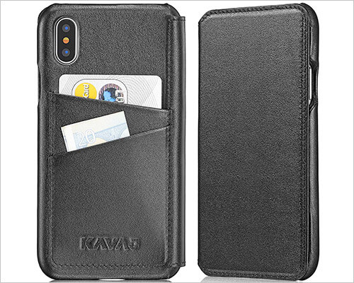 Kavaj iPhone Xs Max Leather Case
