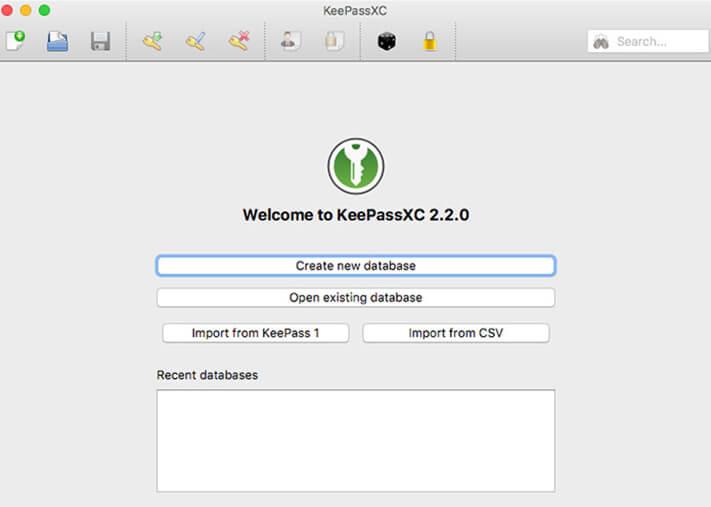 KeePassXC Password Manager Mac App