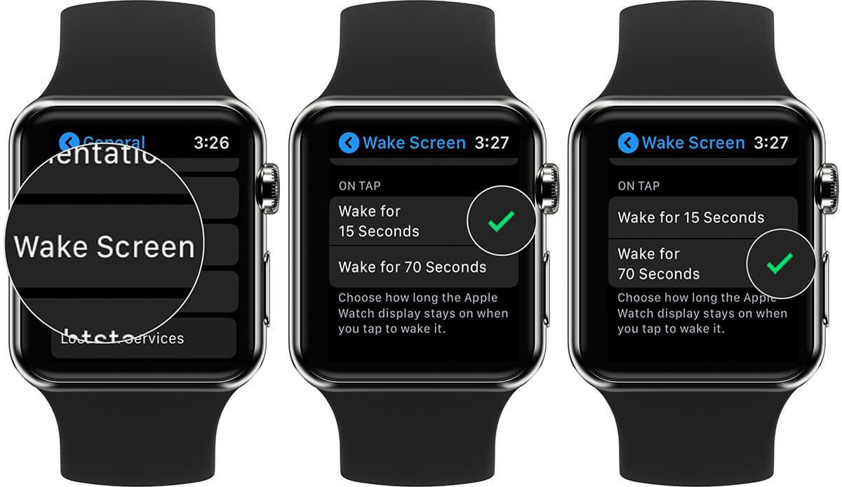 Keep Apple Watch Display ON for Long Tine