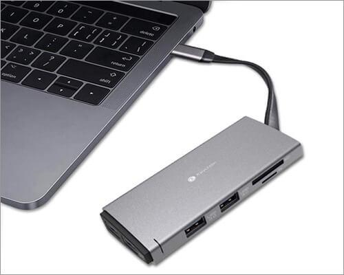Keychron USB C Hub Adapter for MacBook Pro 16 Inch