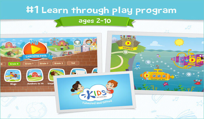 Kids Academy Talented Gifted PreSchool iPhone and iPad Game Screenshot