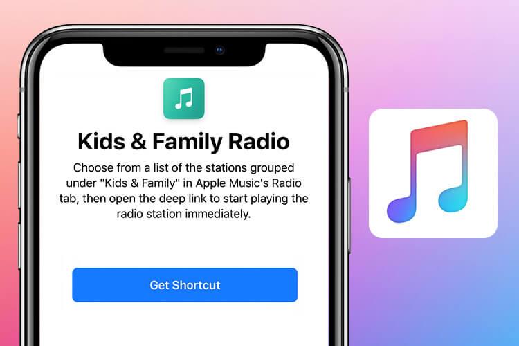 Kids & Family Radio Siri Shortcut