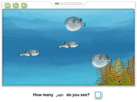 Kids Math App for iPad