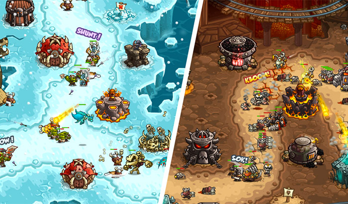 Kingdom Rush Vengeance Paid iPhone Game Screenshot