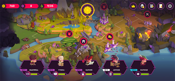 Kings League II Apple Arcade Role Playing Game for iPhone, iPad and Apple TV