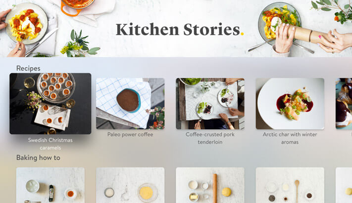 Kitchen Stories Apple TV Cooking App Screenshot
