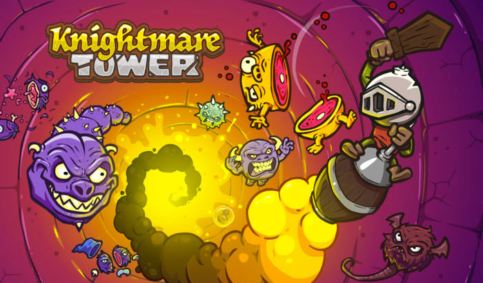 Knightmare Tower Endless Runner iPhone and iPad Game Screenshot