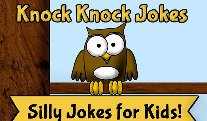 Knock Knock Jokes iPhone and iPad App Screenshot