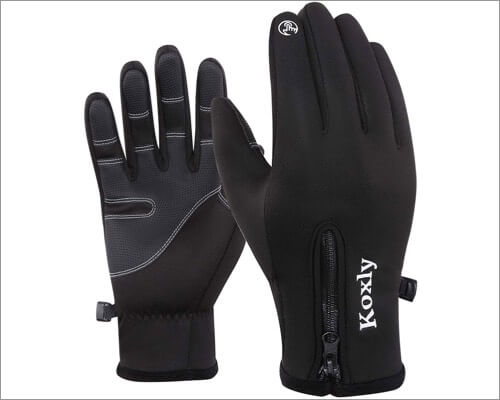 Koxly touchscreen gloves for iPhone and iPad