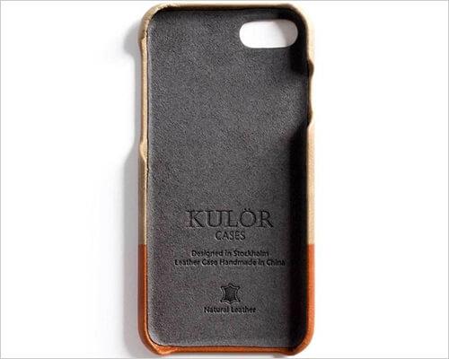 Kulor iPhone 7 Leather Case