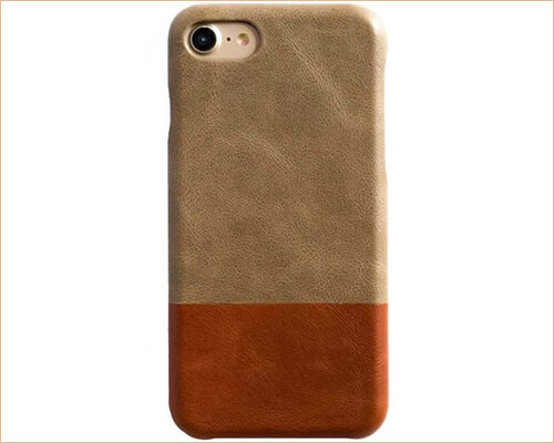 Kulor iPhone 8 Leather Case