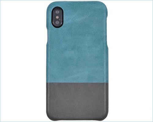Kulor iPhone Xs Leather Case