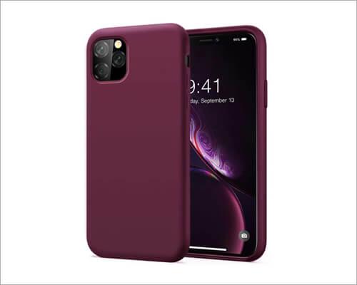 Kumeek iPhone 11 Pro Gel Rubber Silicone Case