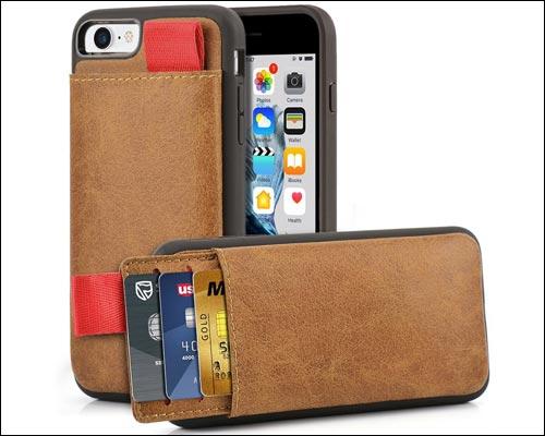 LAMEEKU iPhone 6-6s Wallet Case