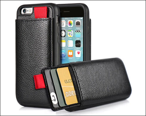 LAMEEKU iPhone 6s Wallet Case