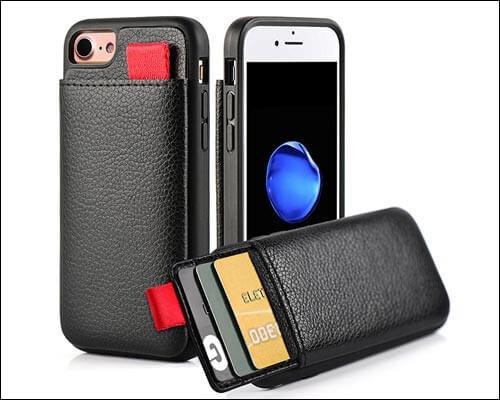 LAMEEKU iPhone 7 Wallet Case