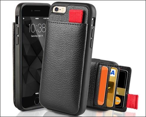 LAMEEKU iPhone 8 Wallet Case
