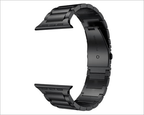 LDFAS Stainless Steel Bracelet Band for Apple Watch Series 5