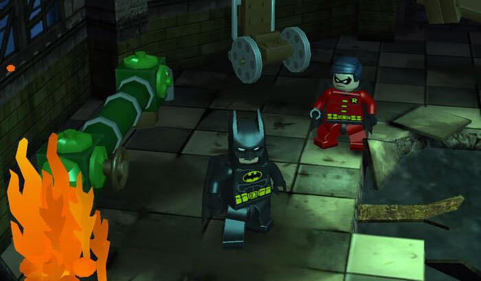 LEGO Batman - DC Super Heroes iPhone and iPad Game Screenshot