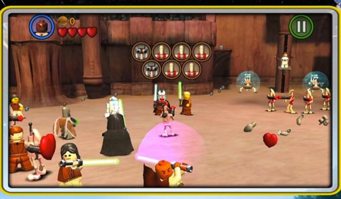 LEGO Star Wars iPhone and iPad Superhero Game Screenshot