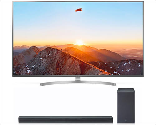 LG 55SK8000PUA 55-inch Smart LED TV with Dolby Atmos Support