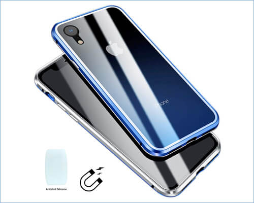 LIGHTDESIRE iPhone XR Magnetic Adsorption Case