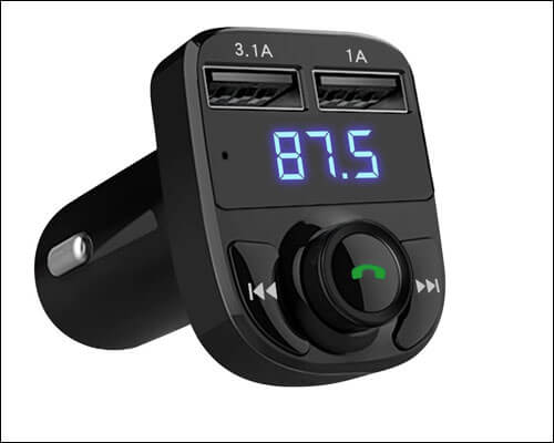 LIHAN Bluetooth FM Transmitter for iPhone 6 and 6 Plus