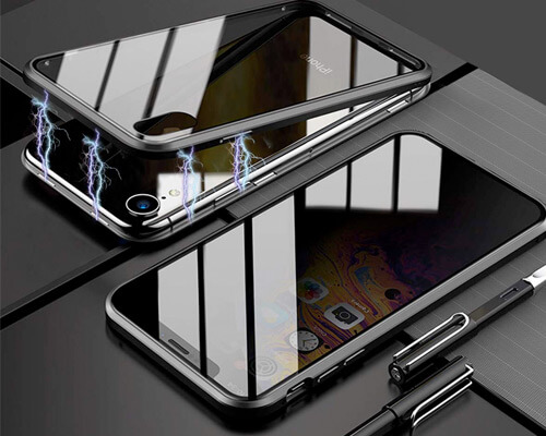 LISADE Magnetic Case for iPhone XR