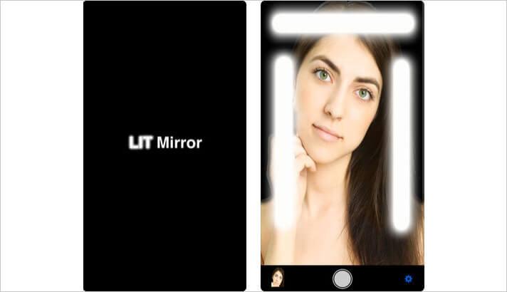 LIT Mirror iPhone and iPad App Screenshot