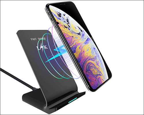 LK Wireless Charging Stand for iPhone Xs Max, Xs, and iPhone XR