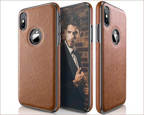 LOHASIC iPhone X Leather Case