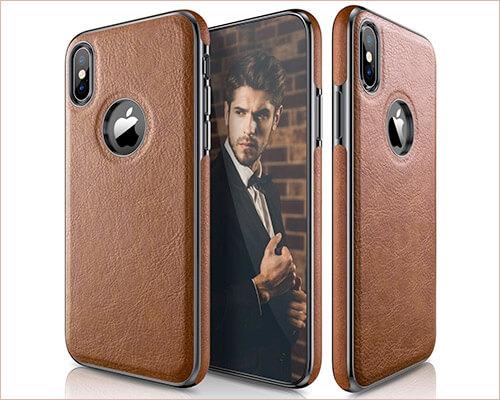 LOHASIC iPhone Xs Leather Case