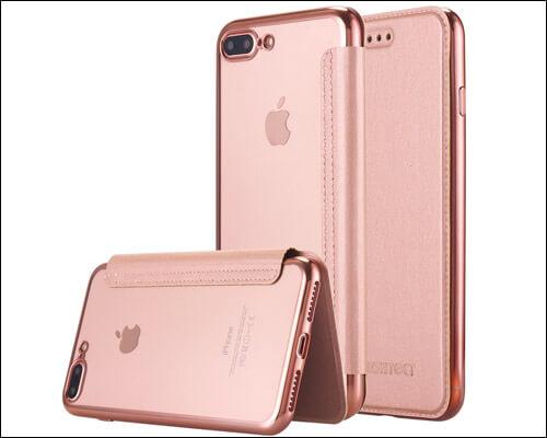 LONTECT Folio Case for iPhone 7 Plus