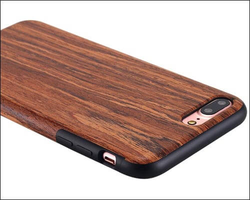 LONTECT iPhone 7 Plus Wooden Case
