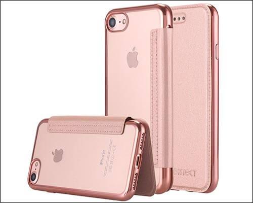 LONTECT iPhone 8 Flip Case