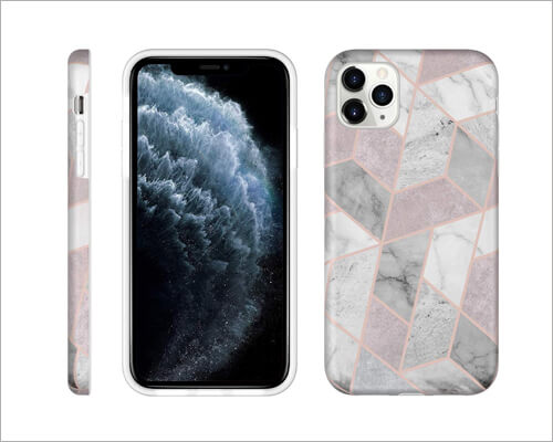 LUMARKE Designer Silicone Case for iPhone 11 Pro Max
